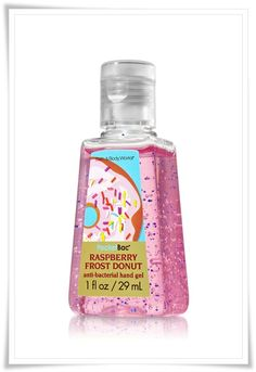 Bath and Body Works PocketBac Lunch Box Anti-Bacterial Hand Gels & Bath and Body Works PocketBac Donuts Anti-Bacterial Hand Gels – Musings of a Muse - Candles on Sale: Candle Promotions - Bath & Body Works Bath N Body Works, Bath And Body, Frost Donuts, Raspberry Frosting, Lush Bath, Cute School Supplies, Donut Party, Smell Good, Perfume