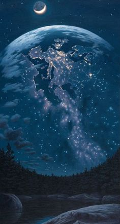 Rob Gonsalves- Night Lights