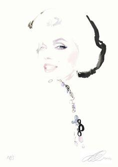 Marilyn Monroe by David Downton