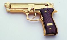 Beretta 92FS DeLuxe Gold www.beretta.com