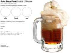 Learn all about the states of matter with a rootbeer float!
