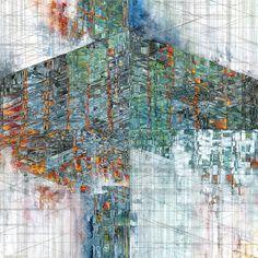 Geometric Watercolors by Artist Jacob Van Loon