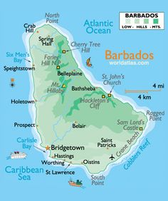 My heritage! Both my parents are from Barbados. I've only been there twice and  hope to travel there many times during my retirement! Jeanette Armstrong 2014.