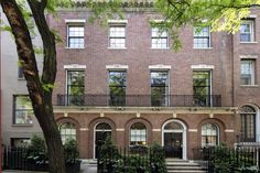 David Rockefeller's Upper East Side townhouse hits the market for $32.5M - Curbed NY