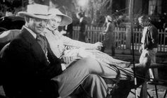 Clark Gable & Vivien Leigh On Set Gone With the Wind