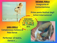 POLE DANCE E CONTORSIONISMO