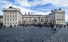 Gate to the Prague Castle. Prague Castle, Gate, Cathedral, Louvre, Street View, Canada, Country, Travel, Europe
