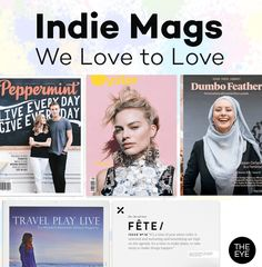 5 Indie Mags We Love to Love!  https://www.isubscribe.com.au/news/lifestyle-magazines-14/top-5-hip-and-niche-mags-55/?ref=news_hp