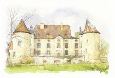 Les Aix, Allier, France | by Linda Vanysacker - Van den Mooter