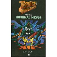 Bernice on the cover of the BF novel The Infernal Nexus.