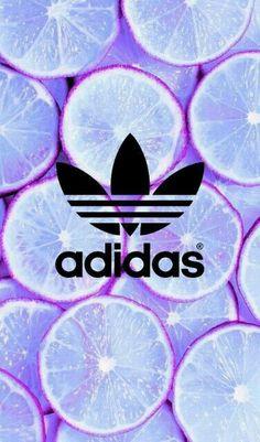 I love purple and Adidas