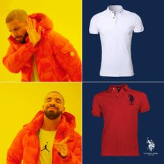 Drake knows best. #USPoloAssn