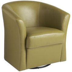 Isaac Swivel Chair - Avocado