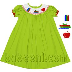 Smocked dresses . Please click here for another beautiful smocked dress babeeni.com/Halloween-bishop-smocked-dresses-and-smocked-romper.html
