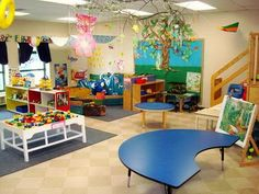 Fabulous Preschool Classroom Design Here Is A Great Layout Idea For Your Preschool Daycare Classroom in Home Interior Design Reference Kindergarten Classroom Layout, Preschool Classroom Layout, Preschool Rooms, Classroom Design, Preschool Kindergarten, Classroom Decor, Preschool Decor, Classroom Organization, Preschool Furniture