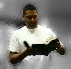 Kevin Maduray preaching