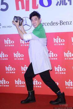 Dawen Wang attends the Hito Music Awards Presentation http://www.chinaentertainmentnews.com/2015/06/jolin-tsai-biggest-winner-of-hito-music.html
