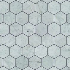 Estate Hexagon - 150 Bianco Carrara