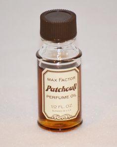 Max Factor Patchouli Perfume Oil - Shop Vintage
