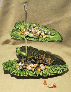 Мастер-класс по изготовлению оригинального блюда «Листья» - Ярмарка Мастеров - ручная работа, handmade