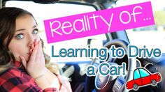 Reality Of: Learning to Drive a Car | Brooklyn and Bailey