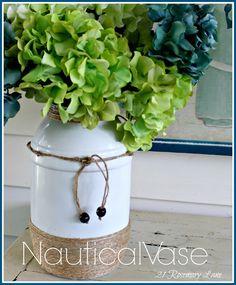 Pretzel Container to Nautical Vase