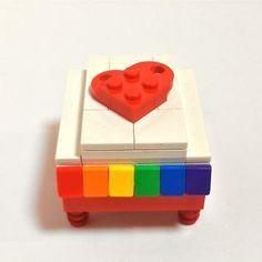 RAINBOW BOX MADE OF LEGO®