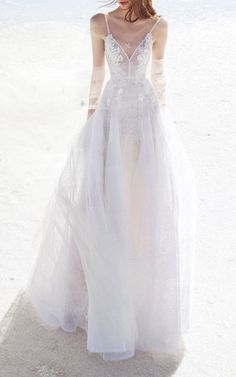 Alex Perry Bridal Anna Lace Floral Embellished Gown