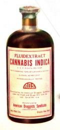 "Marijuana tincture containing cannabis buds and alcohol-must be what they mean about the ""good ole days"""