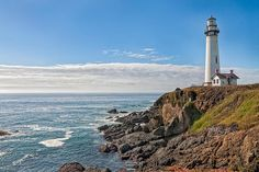 Jewels of the California Coastline: 16 Stunning Lighthouses You Can Visit: Pigeon Point Lighthouse