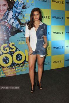 celebstills: Alia Bhatt Launches 1st Edition of Miss Vogue India Photos