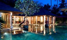Jamahal Private Resort Frangipani Villa, Indonesia.
