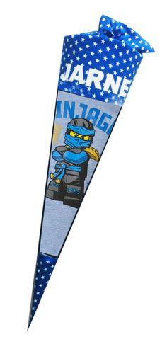 Schultüten - Zuckertüte Schultüte Ninjago Lego 1. Schultag - ein Designerstück von mary-lou27 bei DaWanda