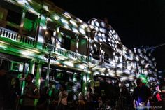 ILOMINATION: THE LIGHTING OF ILOILO CITY'S CALLE REAL – lakwatserongdoctor Iloilo City, Real Queens, Art Deco Buildings, Old City, Old Things, Things To Sell, Architecture Design, Lighting, Street