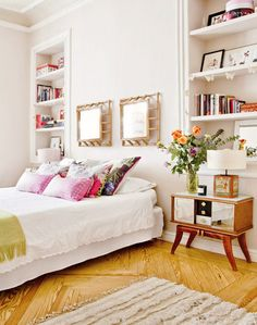 The Rental: A Fashion Designer's Feminine Madrid Rental  Key Lessons: High-impact décor pieces don't have to be high-maintenance, and they will make your space feel intentional...