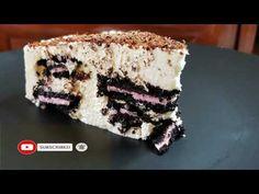 Τούρτα με oreo φράουλα μόνο με 3 υλικά!!! - YouTube Strawberry Cakes, 3 Ingredients, Tiramisu, Oreo, Birthday Cakes, Ethnic Recipes, Desserts, Food, Youtube
