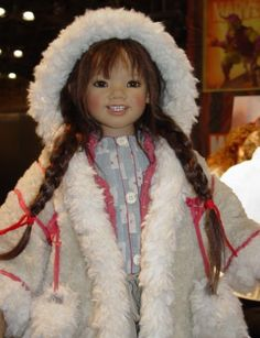 Ilai from Greenland by Annette Himstedt. Dolls from the First World's ...