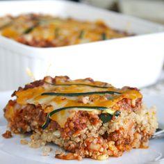 Quinoa Lasagna THM - E meal
