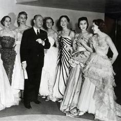 1950 - Christian Dior & models