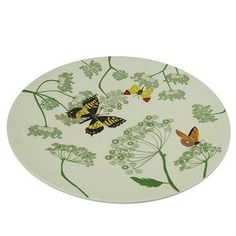 Bamboo-fiber based dinner plate from Zuperzozial. Botanic print by graphic designer Lizzy Kaat Willow Green, Grey Stone, Dinner Plates, Colours, Contemporary, Tableware, Prints, Design, Stabil