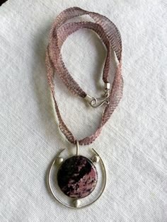 Agate stone 925 sterling silver necklace  silver wire by BerArt, $85.00 Handmade Sterling Silver, Sterling Silver Necklaces, Agate Stone, Jewelry Boards, Etsy Jewelry, Handmade Necklaces, Handmade Jewelry, Washer Necklace, Beautiful Things