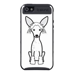 Chinese Crested Dog Cartoon iPhone 5 Cover