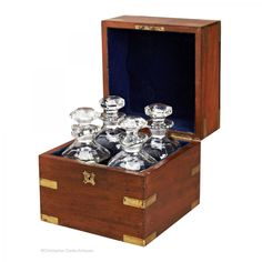 Search results for: 'antiques brass-bound-decanter-box' Campaign Furniture, Decanter, Antique Brass, Liquor Cabinet, Decorative Boxes, Cool Stuff, Antiques, Storage, Trunks