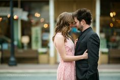 Downtown Roswell, Engagement Shoot