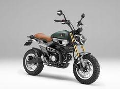 Custom Honda Grom Scrambler / MSX  2016 / 2017 Honda Motorcycles   Concept Model Lineup - Tokyo Motor Show 2015: