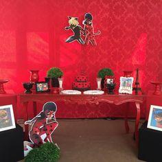 Lady bug para comemorar os 5 aninhos da Vitória!!! ❤️ #sonhocolore #miraculous #ladybug