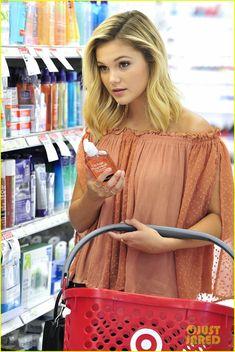 olivia holt shopping target los angeles 08