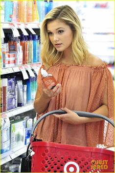 olivia holt shopping target los angeles 08