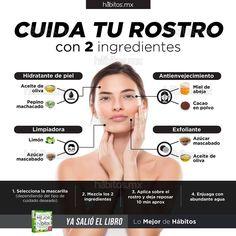 Hábitos Health Coaching     CUIDA TU ROSTRO CON 2 INGREDIENTES