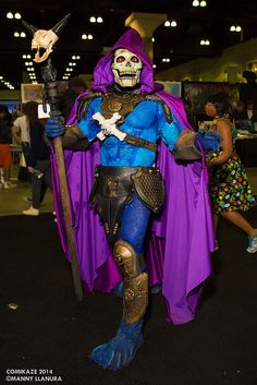 Comikaze 2014 Skeletor #Cosplay